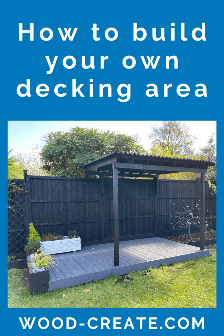 How to build your own decking area