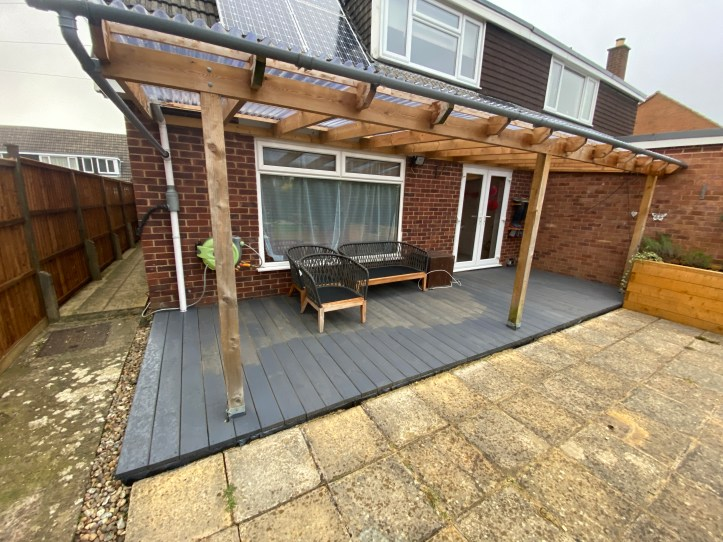how to build your own decking - painting