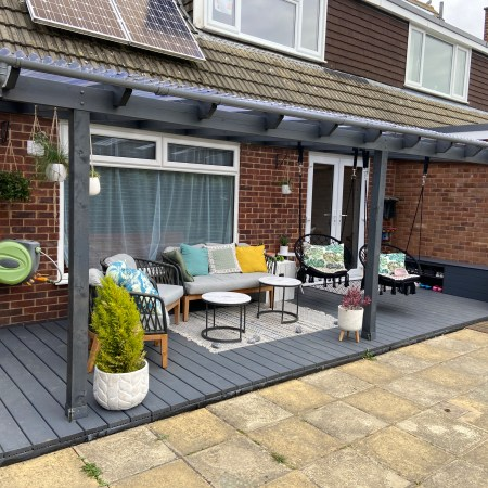 how to build your own decking - complete