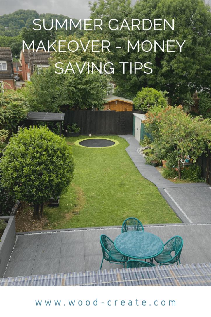 garden makeover - money saving