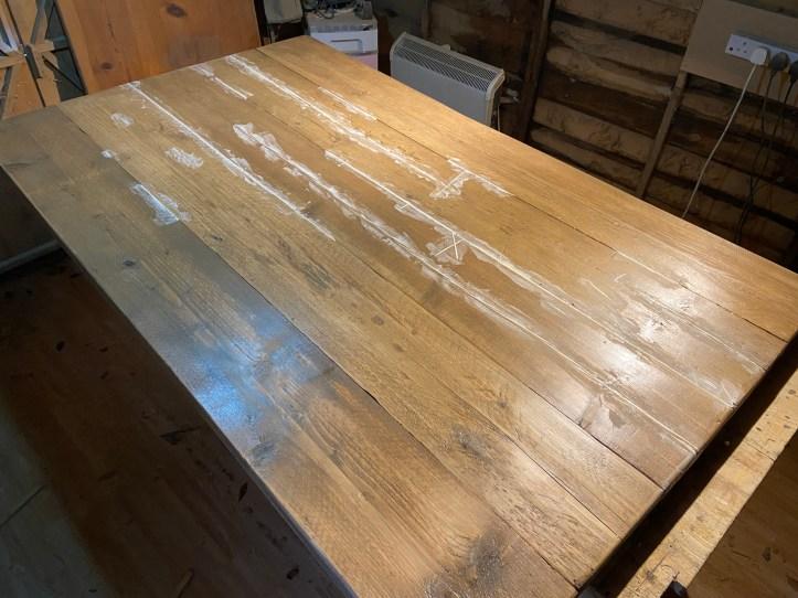 filling wood