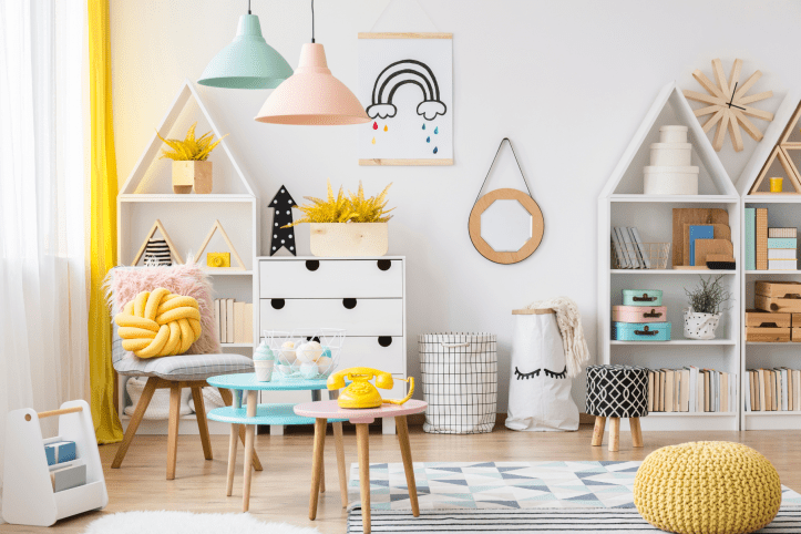 Why wood is the best choice for playroom furniture