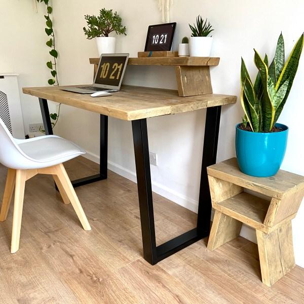 invert trapezium desk