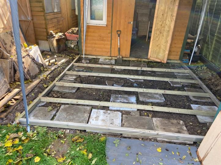 garden office build