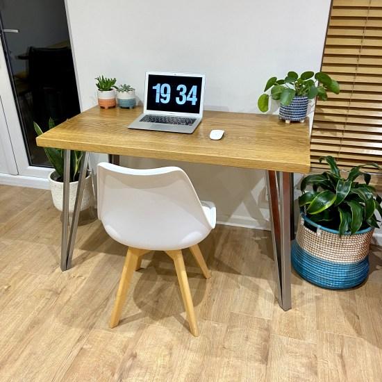 solid oak desk 9