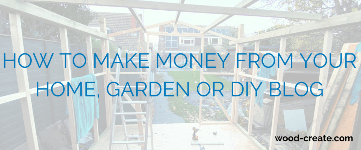 how to make money from your DIY blog