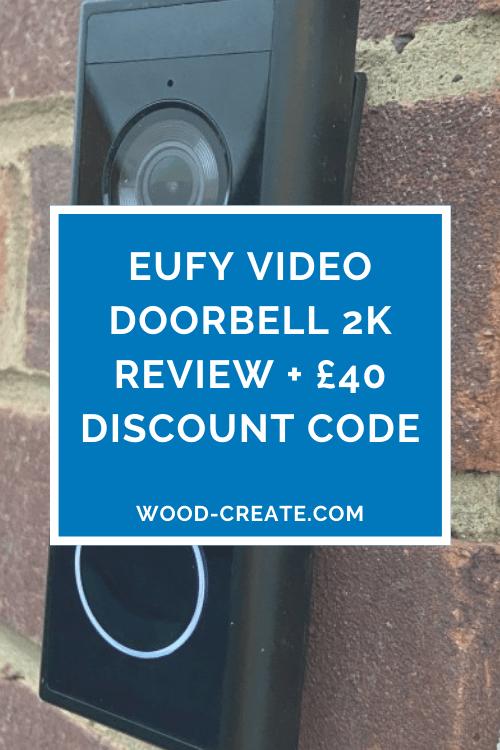 Eufy Video Doorbell 2K review discount code