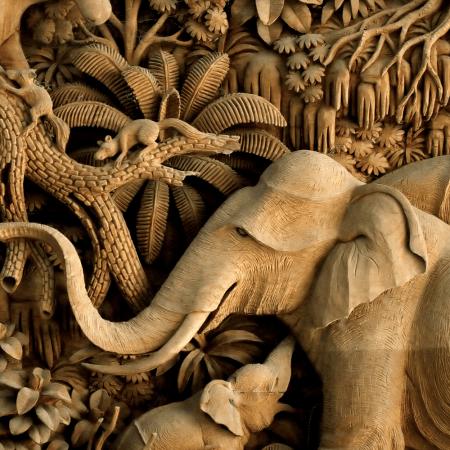 wood carving fantastic