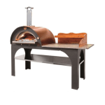 Clementi Pizza Party 80 by 60 - Anthracite body with Copper Roof
