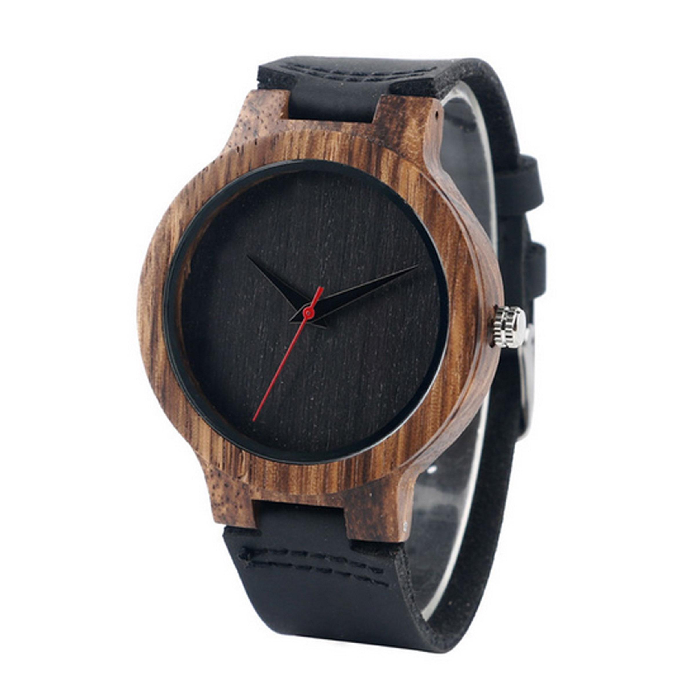 montre en bois pour homme pas cher montre bois a partir de 39. Black Bedroom Furniture Sets. Home Design Ideas