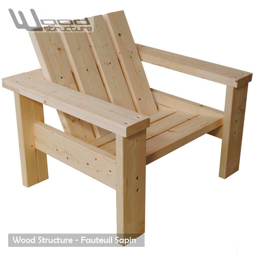 fauteuil sapin