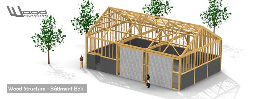 Batiment Bois Wood Structure