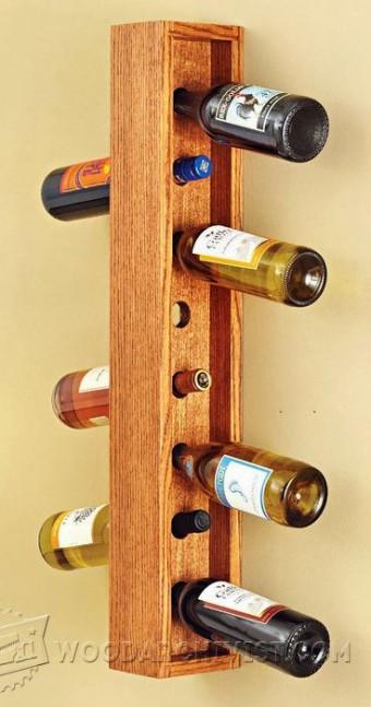 846 Stacking Wine Rack Plans Woodarchivist