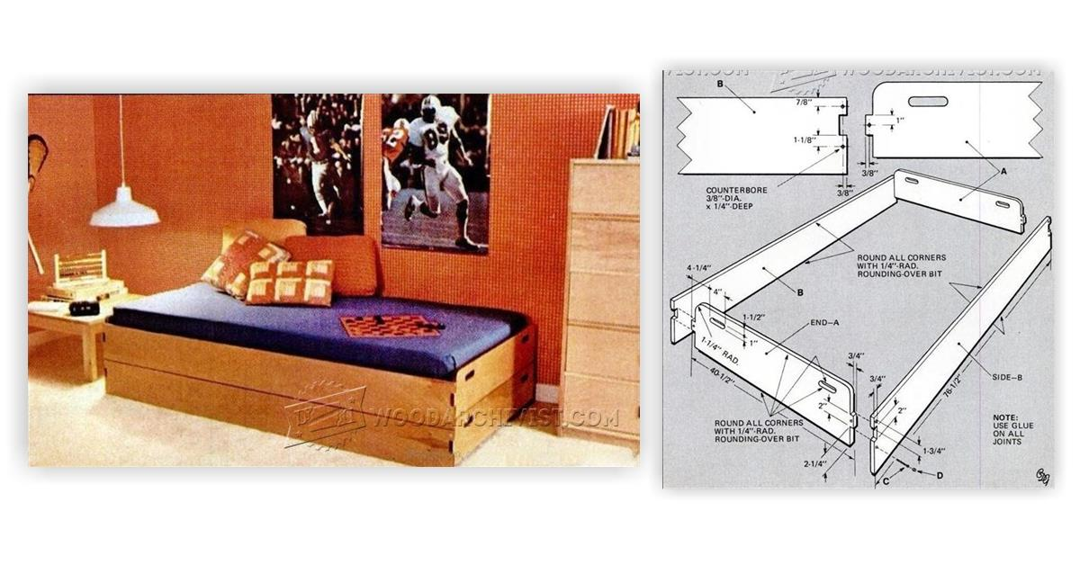 Stackable Beds Plans WoodArchivist
