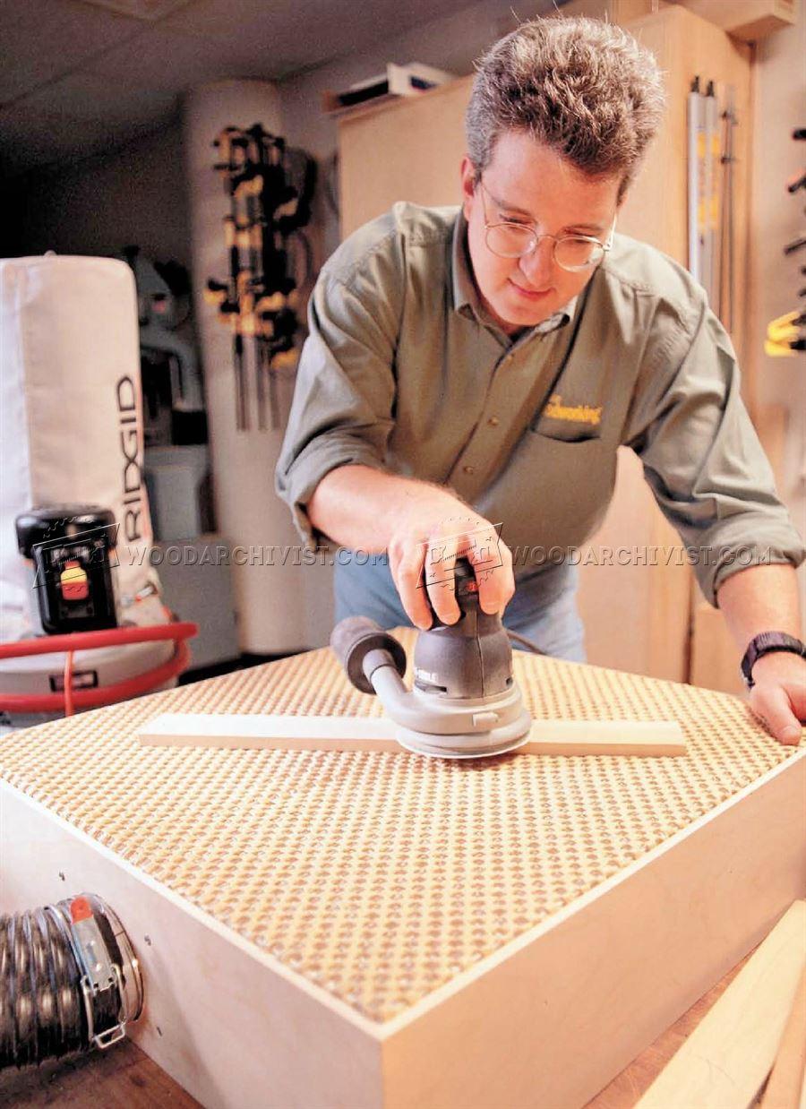 Diy Downdraft Sanding Table Woodarchivist
