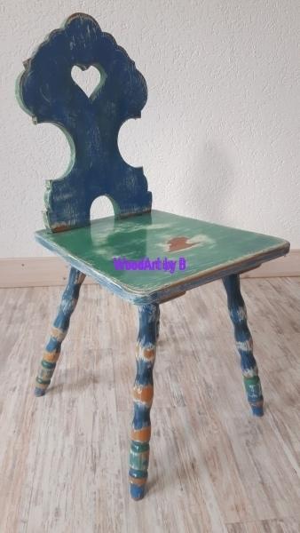 Stuhl Vintage - Shabby - Used-Look