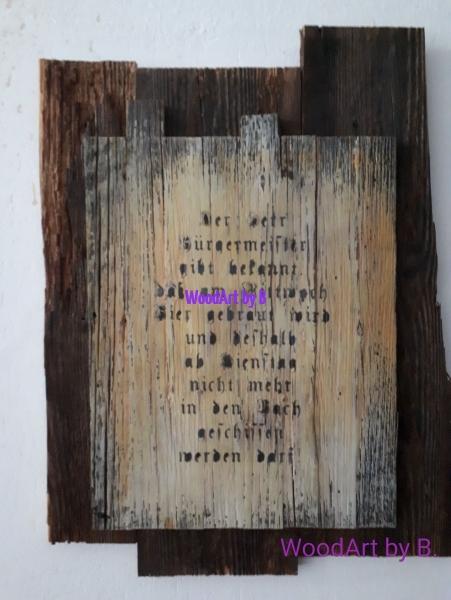 WoodArt by B.Wanddeko_Buergermeister ohne Rahmen