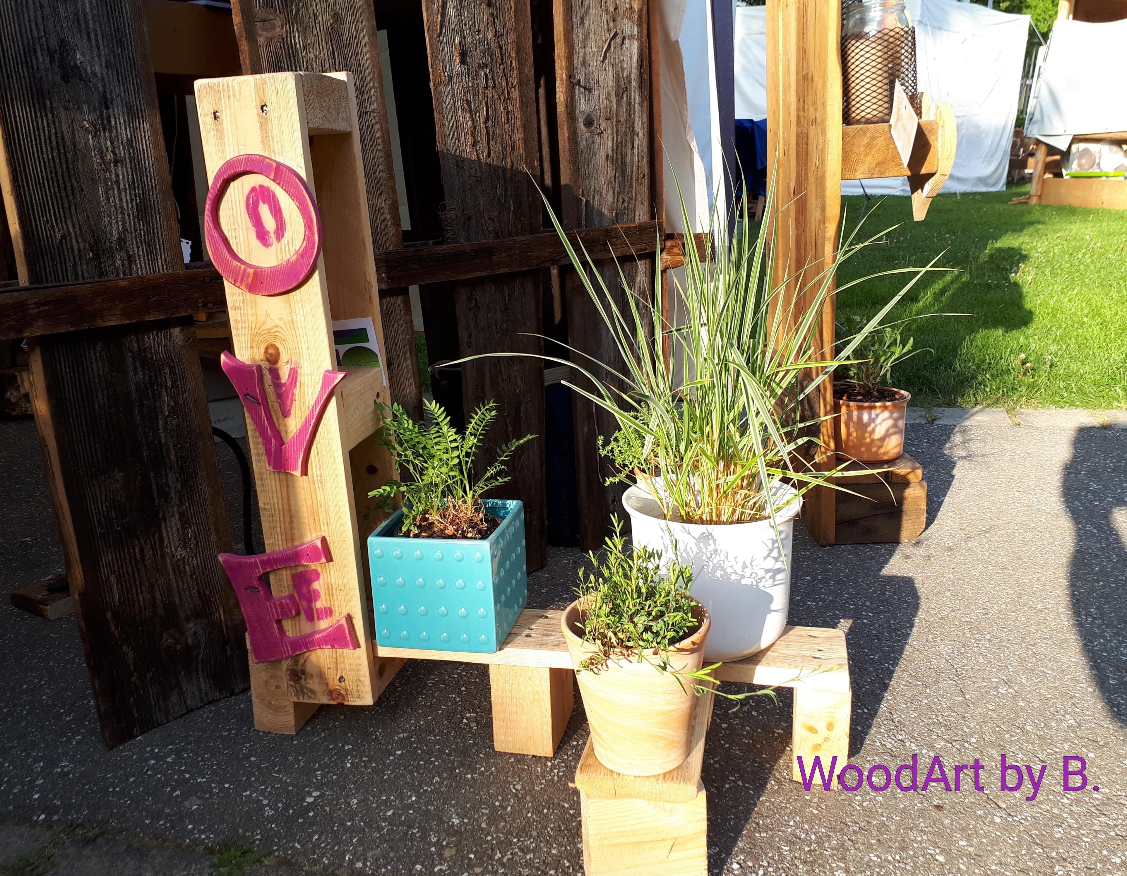 Lovely Blumenständer by WoodArt