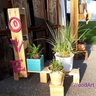 Lovely Blumenständer by WoodArt Kunsthandwerkermarkt Herrenberg