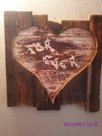 Herz hinter Altholz -For Ever-