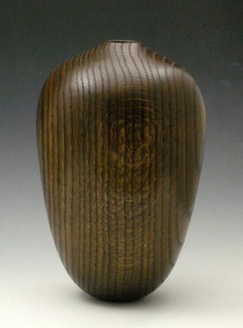 Dark Oak vessel, View 2