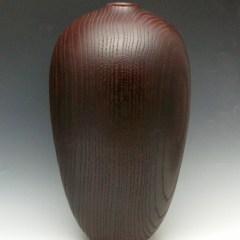 Burgundy Oak Vessel