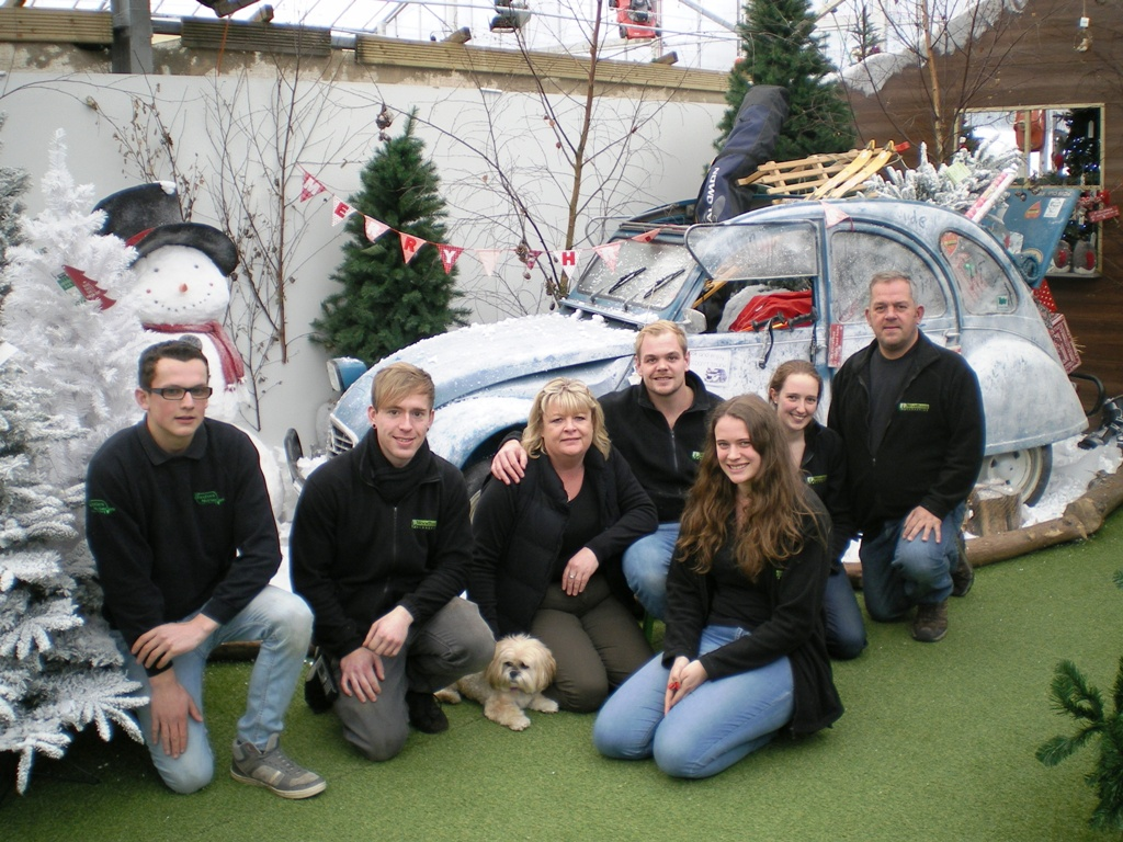 The Snowzone Christmas Display Team
