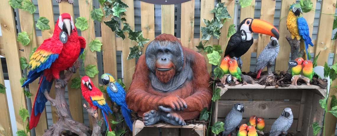 New Jungle Resin Animals from Vivid Arts
