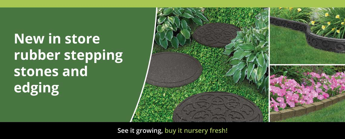 Rubber Stepping Stones Amp Lawn Edging