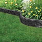 The Flexi-Curve Garden Border – Scroll is a lighter weight alternative to the traditional concrete garden border and a much more durable and long-lasting alternative to wood or plastic borders. A versatile solution for defining garden beds and paths. Manufactured from recycled rubber tyres ensures that these are extremely hard wearing and suitable for use outside, year around.