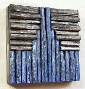wood art, wood assemblage