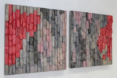 corporate art, Wooden art, contemporary art, art acoustic panels,