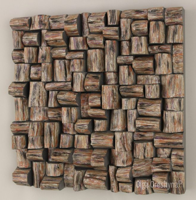 corporate art, wood wall sculpture, wood art, wood wall art