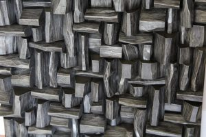 wood acoustic diffuser, wood sound diffuser, wood art