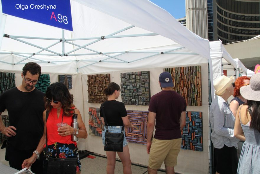 Toronto Outdoor Art Fair is Canada's largest, longest running juried contemporary outdoor art fair.