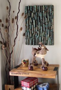 natural art, eco art, wood wall art, eccentricity of wood, wood blocks design, cottage decorating, home style