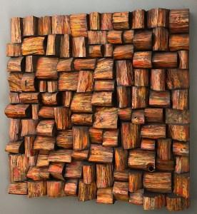 wood art acoustic panel
