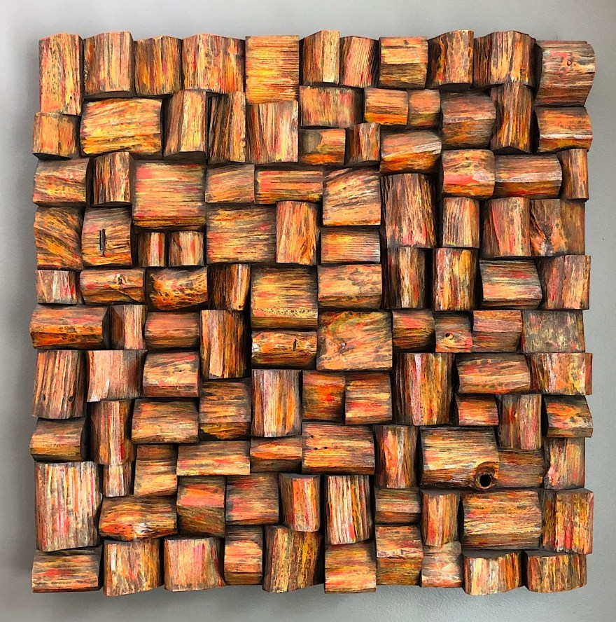 Wood Wall Sculpture