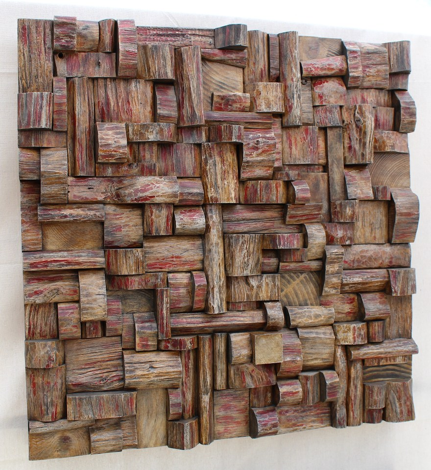 Contemporary Wood Wall Art