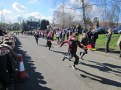 Dash for the finish line
