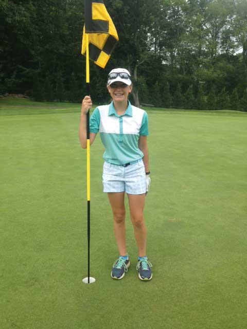 Gabriella Dellacroce Double Eagle-Hole In One