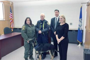 """""""Arlo"""" Inducted As Honorary Police Canine"""