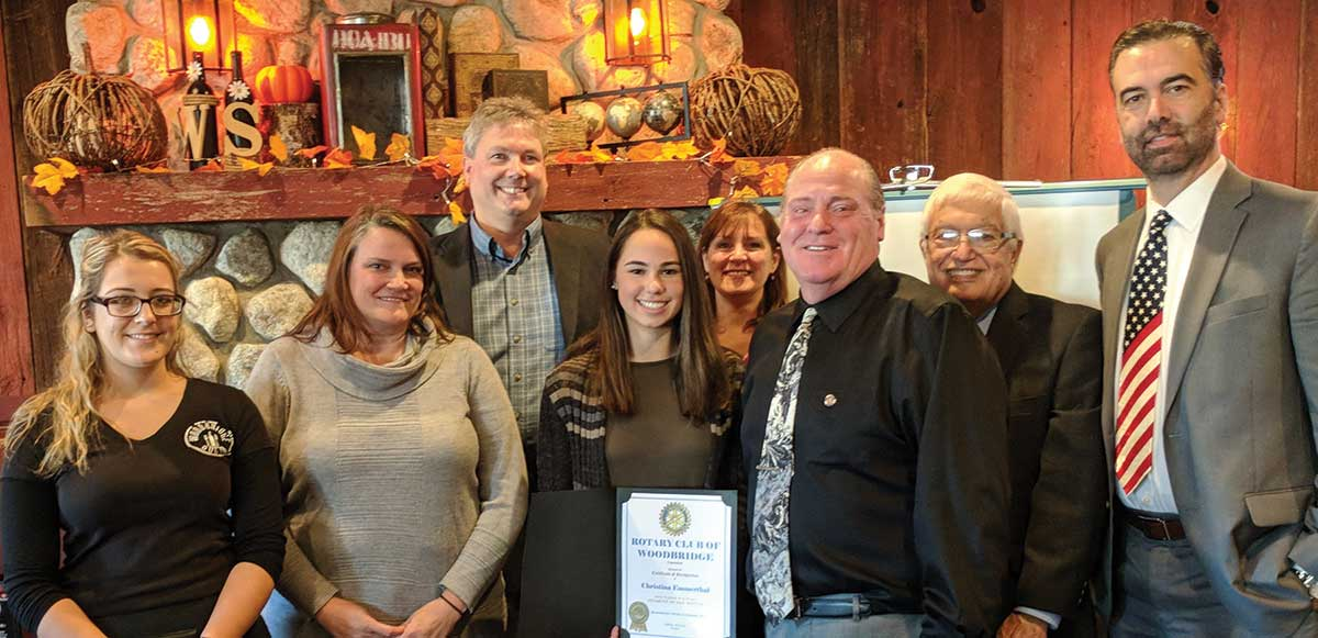 Woodbridge Rotary November Student of the Month