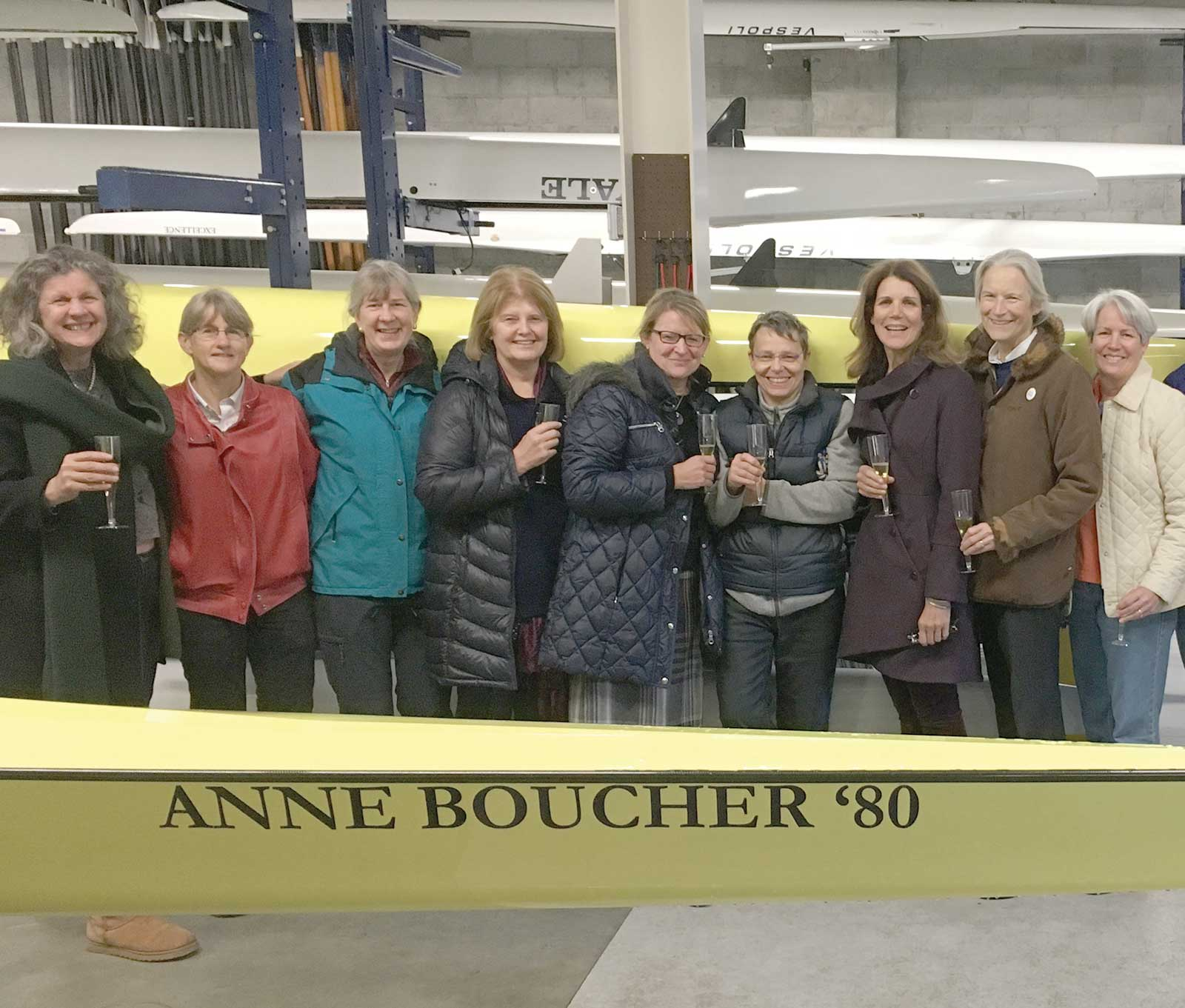 Boucher Honored With Yale Medal
