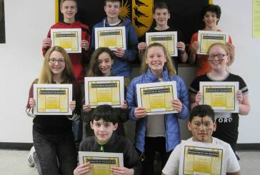 Amity Middle School-Bethany Campus Character of the 2nd Quarter Award