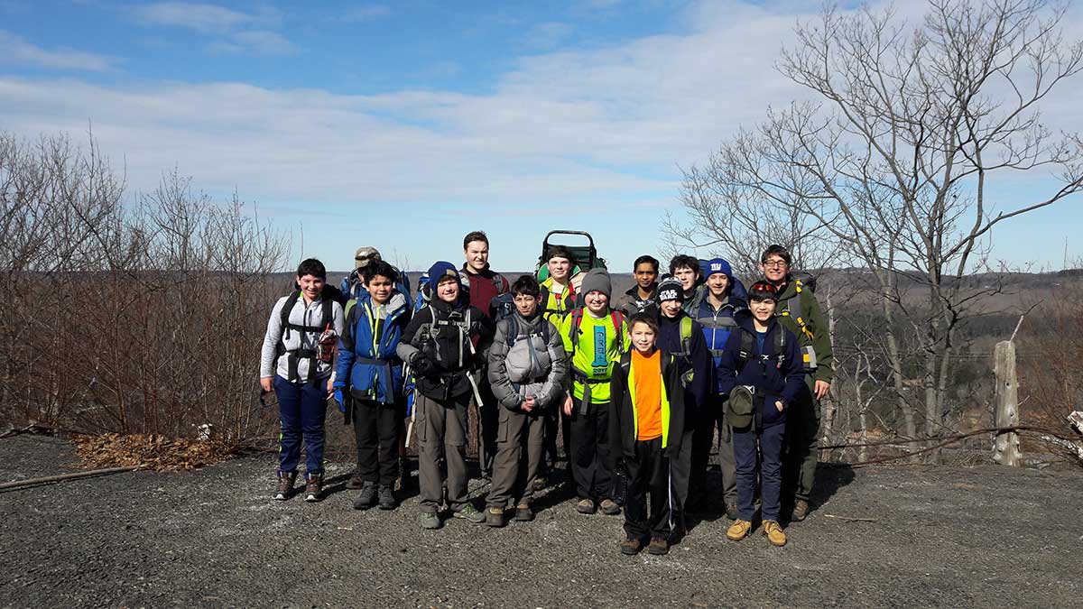 Boy Scout Troop 41 Combats Cold With Busy Schedule