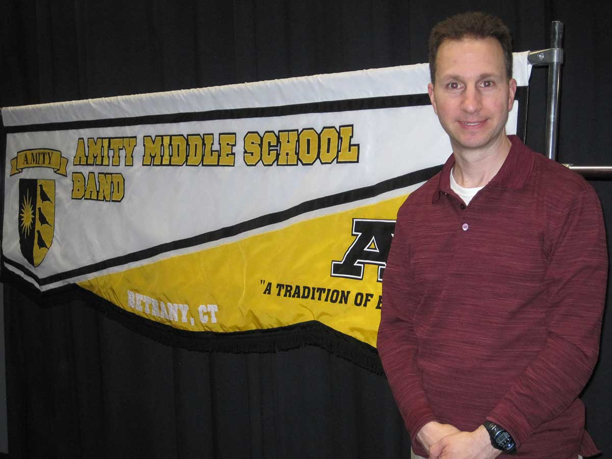 Fragione Named Middle Level Educator of the Year