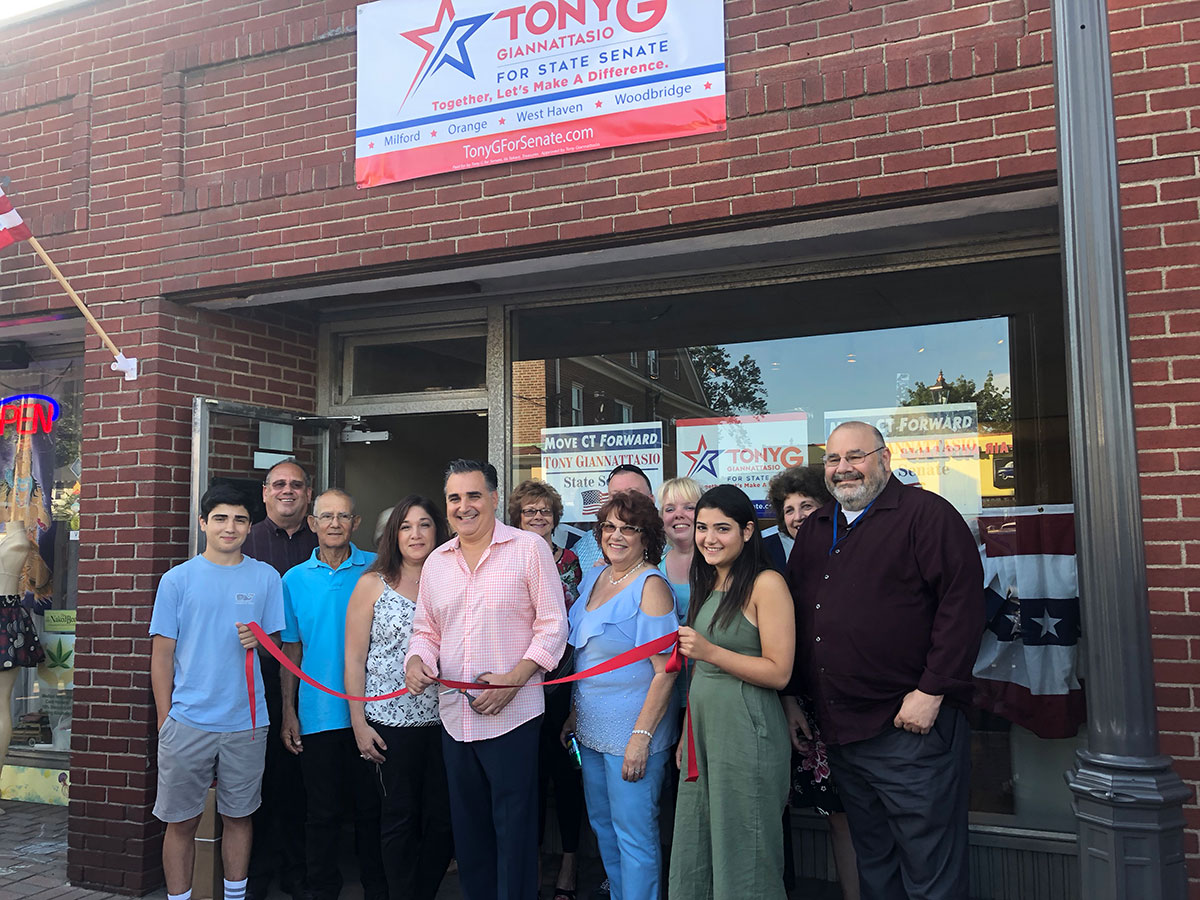 Tony Giannattasio Opens 14th Senatorial District Campaign Headquarters