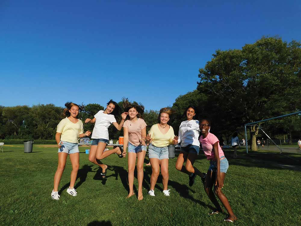 Youth Services Holds Seventh Grade Picnic