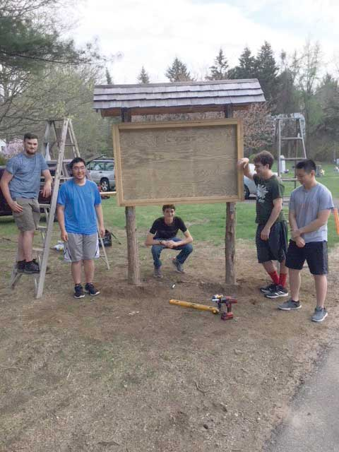 Eagle Scout Veteran Project Within Woodbridge Town Cemeteries